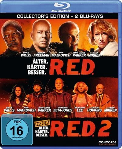 R.E.D. / R.E.D. 2 - DVD Collector's Edition