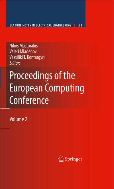 Proceedings of the European Computing Conference: Volume 2