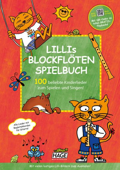 Lillis Blockflöten Spielbuch mit CD