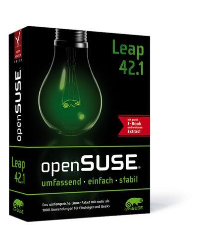 openSUSE Leap 42.1: Das umfangreiche Linux-Paket mit mehr als 1000 Anwendungen für Einsteiger und Geeks