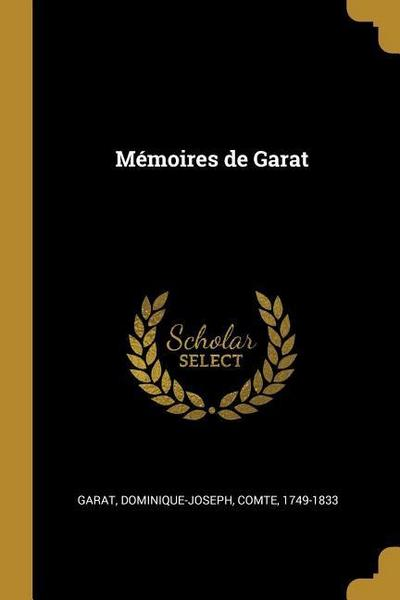 Mémoires de Garat