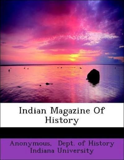 Indian Magazine Of History