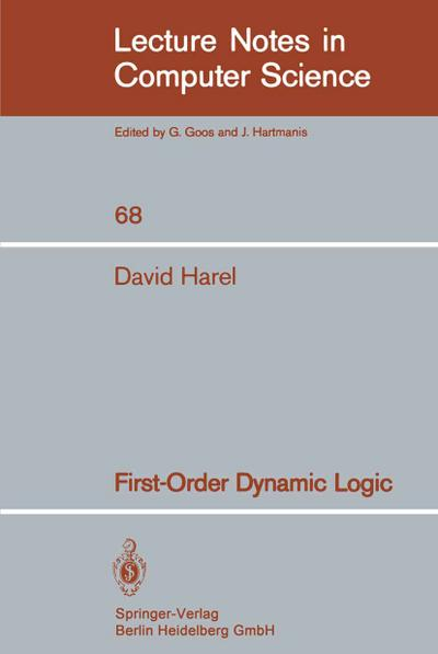 First-Order Dynamic Logic