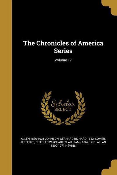 CHRON OF AMER SERIES V17
