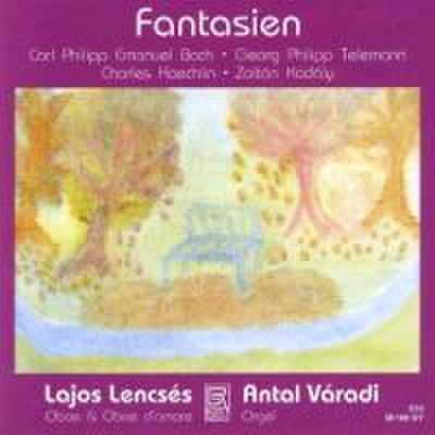 Fantasien-Werke für Oboe und Orgel