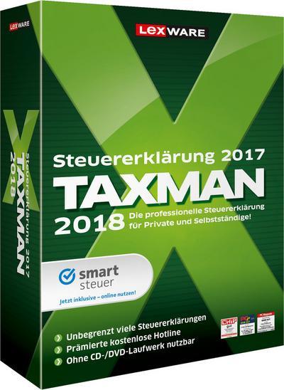 TAXMAN 2018, 1 DVD-ROM