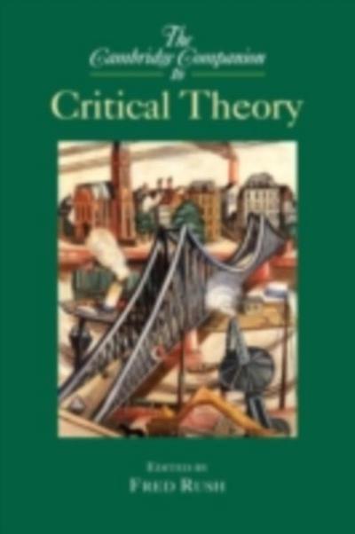 Cambridge Companion to Critical Theory