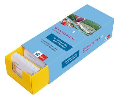 Découvertes - Série bleue Karteikarten-Box zum Schulbuch