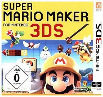 Super Mario Maker for Nintendo 3DS - Nintendo - Videospiel, Deutsch, , ,