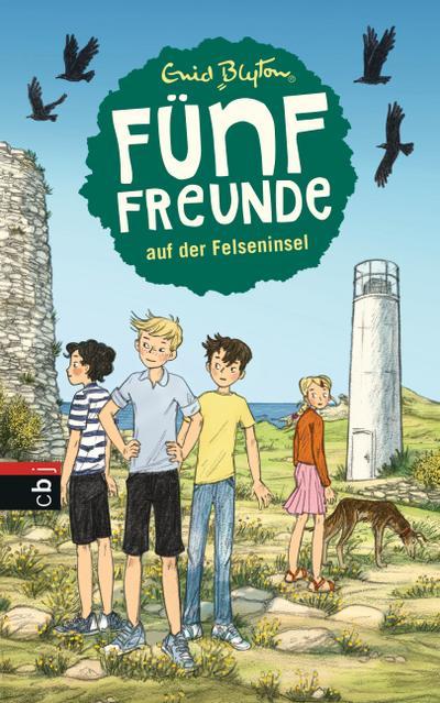 Fünf Freunde auf der Felseninsel; Band 6; Einzelbände; Deutsch; Mit s/w Illustrationen, 40 Illustr.