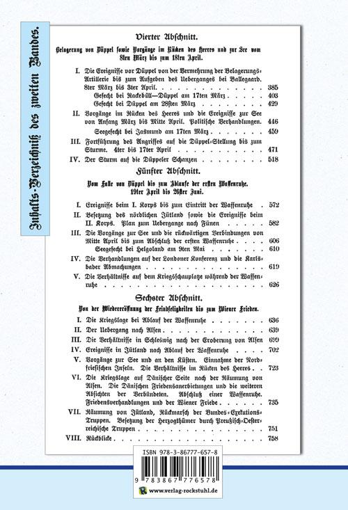 Deutsch-Dänische Krieg 1864. Große Generalstabs Ausgabe. Band  ... 9783867776578