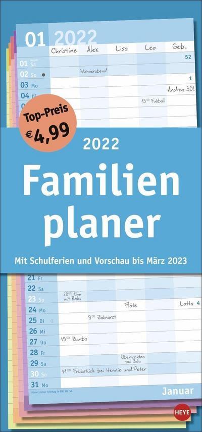 Familienplaner Basic 2022
