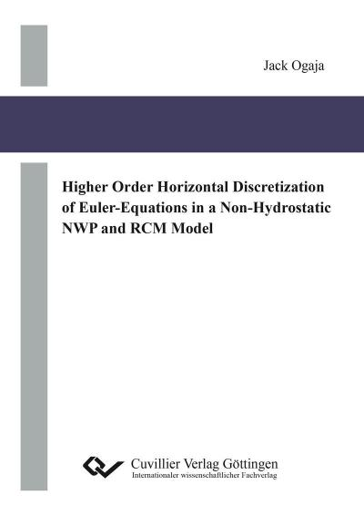 Higher Order Horizontal Discretization of Euler-Equations in a Non-Hydrostatic NWP and RCM Model