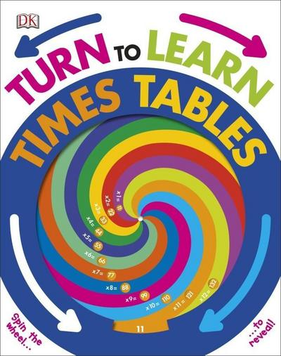 Turn to Learn Times Tables - DK Children - Pappbilderbuch, Englisch, DK, ,