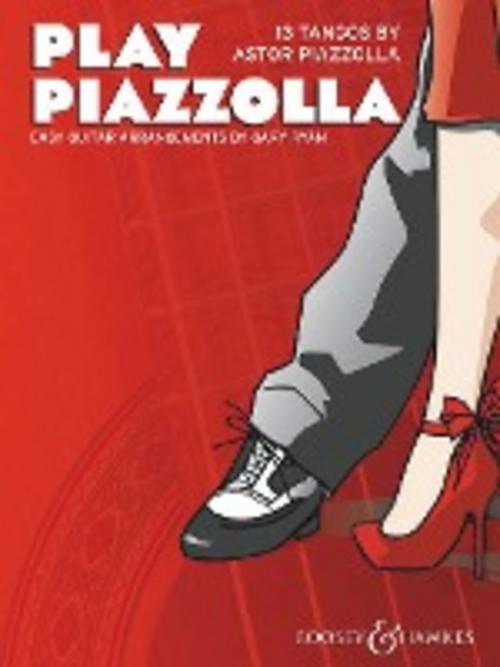 Play Piazzolla, für Gitarre Astor Piazzolla
