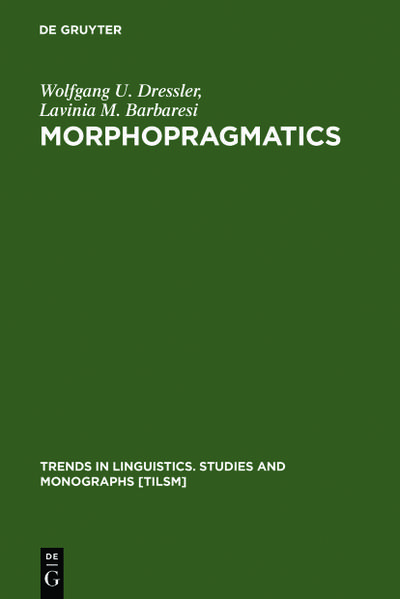 Morphopragmatics