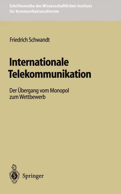 Internationale Telekommunikation