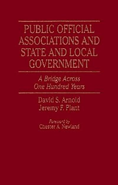 Public Official Associations and State and Local Government