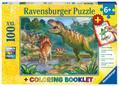 Welt der Dinosaurier (Kinderpuzzle)