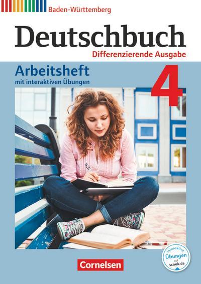 Deutschbuch - Sprach- und Lesebuch - Differenzierende Ausgabe Baden-Württemberg 2016