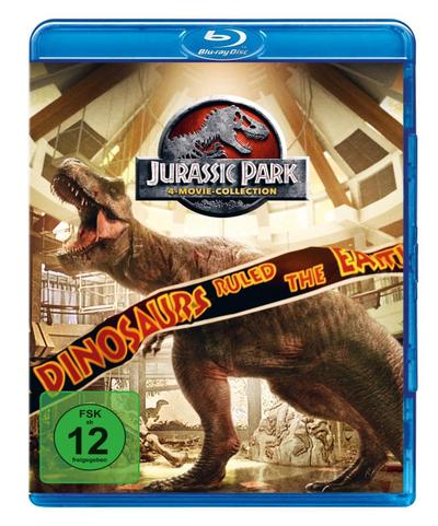 Jurassic Park 1-3 + Jurassic World 1