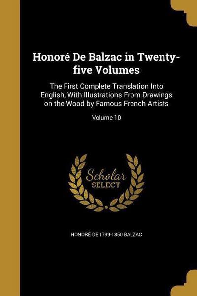 HONORE DE BALZAC IN 25 VOLUMES