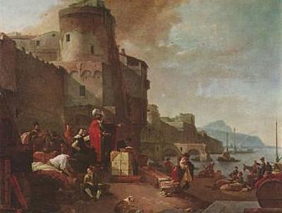 Thomas Wijck - Italienischer Hafen - 200 Teile (Puzzle)