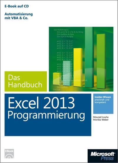 Microsoft Excel Programmierung - Das Handbuch