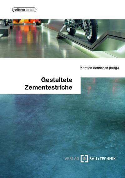 Gestaltete Zementestriche