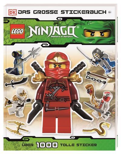 LEGO Ninjago Das große Stickerbuch