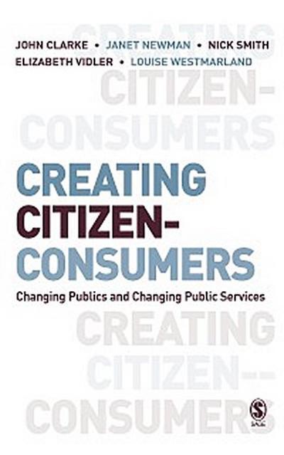 Creating Citizen-Consumers