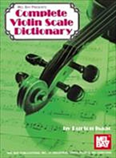 Complete Violin Scale Dictionary