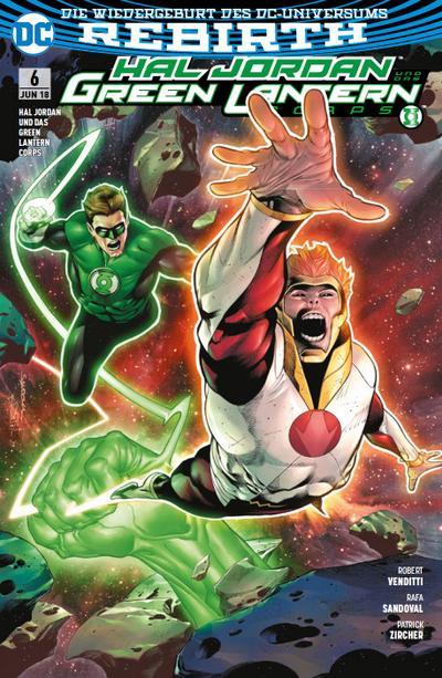 Hal Jordan und das Green Lantern Corps, Der Fall der Götter