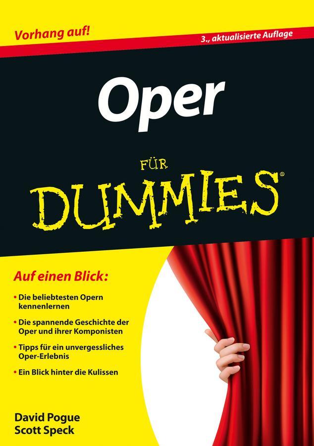 Oper für Dummies David Pogue