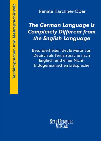 'The German Language is Completely Different from the English Language'