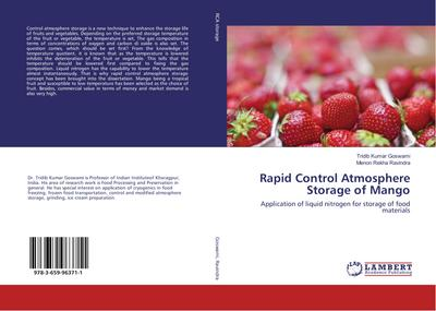 Rapid Control Atmosphere Storage of Mango