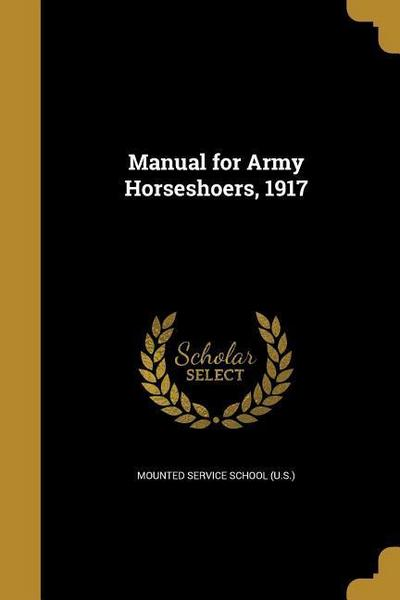 MANUAL FOR ARMY HORSESHOERS 19