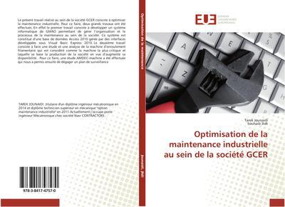 Optimisation de la maintenance industrielle au sein de la société GCER
