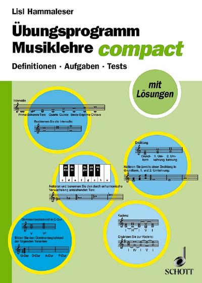 Übungsprogramm Musiklehre