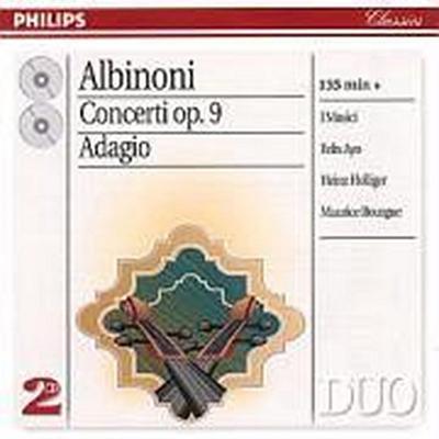 Albinoni: The Complete Concertos / Adagio for Organ & Strings