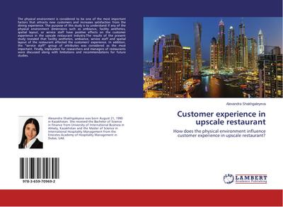 Customer experience in upscale restaurant