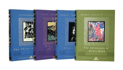Everyman's Library Adventures 4 Volume Set: Treasure Island/The Three Musketeers/King Arthur and His Knights of the Round Table/The Adventures of Robi