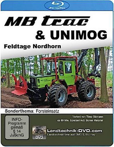 MB trac & Unimog Feldtage Nordhorn - Sonderthema Forsteinsatz, 1 Blu-ray