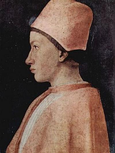 Andrea Mantegna - Porträt eines Prälaten im Hause der Gonzaga - 200 Teile (Puzzle)