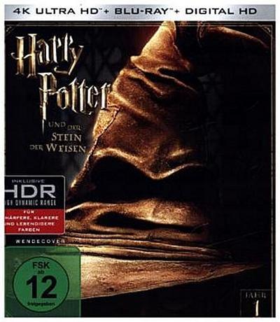 Harry Potter und der Stein der Weisen 4K, 1 UHD-Blu-ray