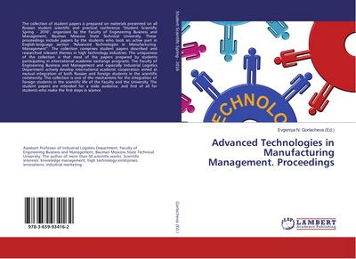 Advanced Technologies in Manufacturing Management. Proceedings