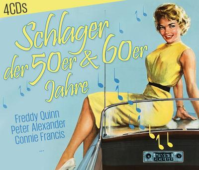 Schlager der 50er & 60er Jahre, 4 Audio-CDs