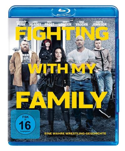 Fighting with my Family, 1 Blu-ray
