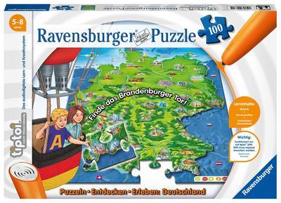 tiptoi® Puzzle Deutschland (Kinderpuzzle)