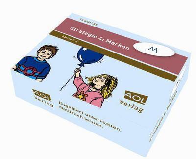 Fit trotz LRS, Strategie 4: Merken (Lernkarten) - AOL-Verlag In Der AAP Lehrerfachverlage Gmbh - , Deutsch, , Klasse 2-4, Klasse 2-4